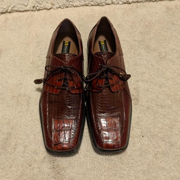 Stacy Adams Snakeskin Shoes